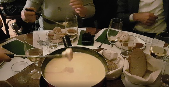 Fondue, Restaurant National